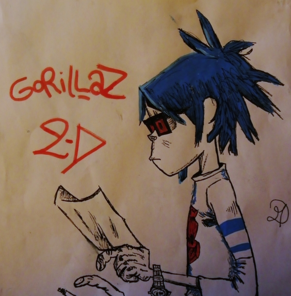 Gorillaz by MD